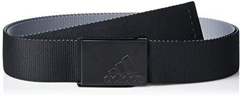 adidas Golf Golf Men s Reversible Web Belt  Black  One Size Fits Most