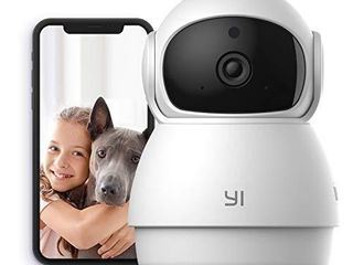 YI Smart Dome Security Camera X  AI Powered 1080p WiFi IP Home Surveillance System with 24 7 Emergency Response  Human Detect  Sound Analytics  Time lapse for Pet Monitor   Works with Alexa   Google