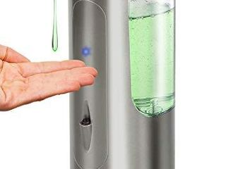 Hanamichi Soap Dispenser  Touchless High Capacity Automatic Soap Dispenser Equipped w Infrared Motion Sensor Waterproof Base Adjustable Switches Suitable for Bathroom Kitchen Hotel Restaurant
