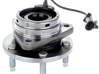 ECCPP 513214 Front Wheel Hub Bearing Assembly fit for 04 05 06 07 08 09 10 11 12 Chevy Malibu 08 10 Chevy Cobalt HHR SS ONlY 05 10 Pontiac G6 07 09 Saturn Aura 5 lugs w ABS