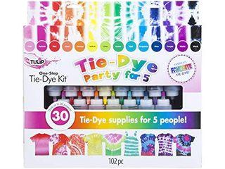 Tulip One Step Tie Dye Kit 15 Color Party Kit  Standard  Rainbow