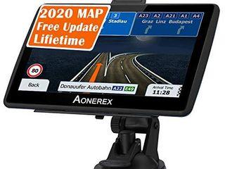 Car GPS Navigation 7  Truck GPS Speeding Camera Warning Voice Navigation  lifetime Map Update