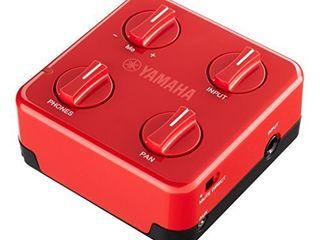 Yamaha SC 01 Session Cake Portable Mixer  Red