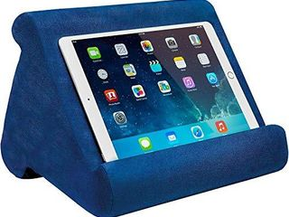 Ontel Pillow Pad Multi Angle Soft Tablet Stand  Blue