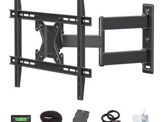 Commercial Electric Full Motion TV Wall Mount Kit for 26 in    70 in  TVs  Black