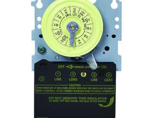 Intermatic T104M Mechanical Time Switch Mechanism Only