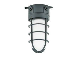 Commercial Electric 150 Watt Gray Indoor Outdoor Area Incandescent Vapor Tight light
