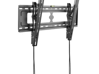 Commercial Electric Tilting TV Wall Mount for 26 in    90 in  TVs  Black