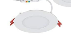 Commercial Electric Slim Directional 4in  Selectable New Construction and Remodel Canless Recessed Integrated lED Kit for shallow ceiling