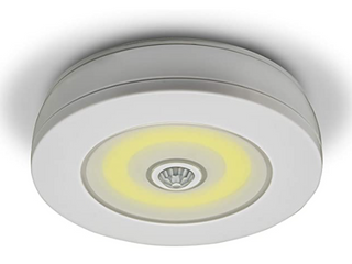 Overlite Ultra Street sign motion activated ceiling wall light detect movement of 15c no wiring schools or Outlet remote control to control three levels of brightness work from 15 feet away battery operated 4A AAA