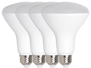 lot Of 2  Ecosmart 65 watt Equivalent Br30 Dimmable led light Bulb  Daylight