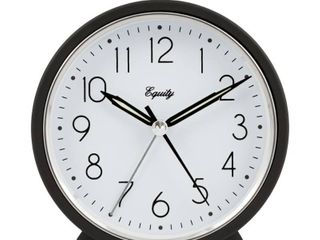 lacrosse 20091 Alarm Clock Frame Analog Quartz  Dark Gray