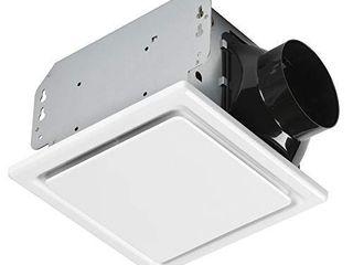 Homewerks 7140 50 Bathroom Fan Ceiling Mount Exhaust Ventilation  1 5 Sones  50 CFM  White