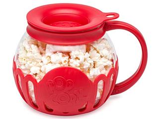 Ecolution Original Microwave Micro pop Popcorn Popper Borosilicate Glass 3 in