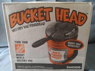 BUCKET HEAD Wet Dry Vac Powerhead  BH0100
