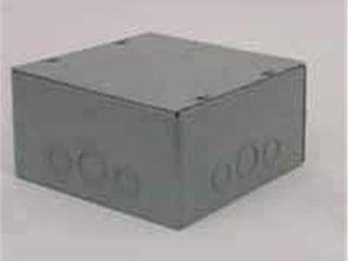 RACO SC060604RC Pull Box Enclosure  1 Gang  Surface Mounting  Steel