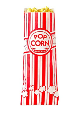 400 COUNT SMAll POPCORN BAGS