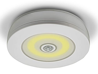 overlight Ultra Freetime motion activated ceiling wall light wireless remote control brightness motion activated powerful cobbled rate for garage sales closet Pantry bathroom in attic