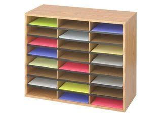 Safco 24 Compartment literature Organizer  Retail 82 99
