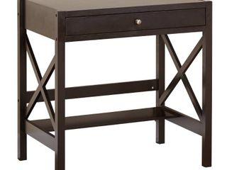 Simple living X Frame Farmhouse Wood Desk  Retail 144 99