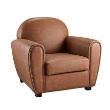 Art leon Classical Retro Faux leather Accent Arm Chair  Retail 435 99 cognac