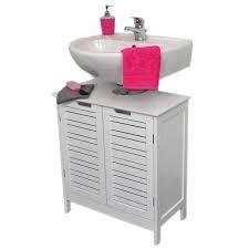 evideco non pedestal bathroom under sink cabinet white