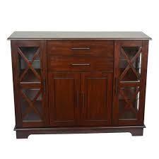 Julianne X Frame Door Console Cabinet  Retail 356 99 vintage cherry