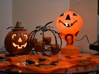 lot of Assorted Fall Halloween Items