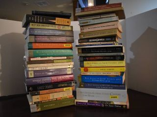 large lot of Assorted Short Story Collections   Novels