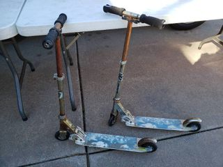 lot of 2 Spiderman Children s Scooters