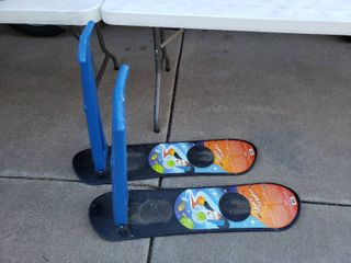 lot of 2 Pelican Space Scooters