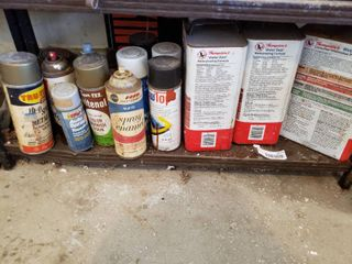 lot of Assorted Spray Can Products   Thompson s Water Seal Waterproofing Formula