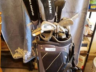 Orlimar Golf Club Set with Bag   15 Clubs Total
