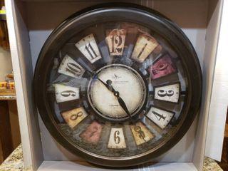 NIB Wall Clock   22 5  Wide