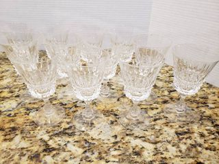 lot of 12 Cordial Glasses