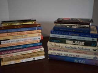 large lot of Parenting   Relationship Help Books