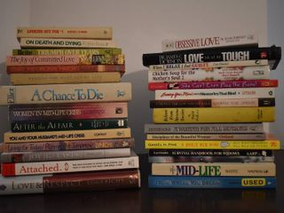 large lot of Assorted Relationship   Mid life Crisis Books