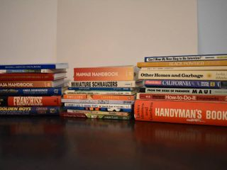 large lot of DIY House Repair  Travel Books   More