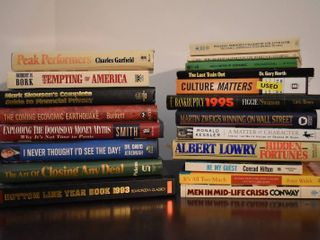 large lot of Assorted Finance   Wall Street Books