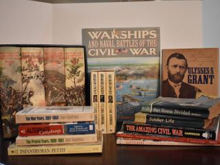 large lot of American Civil War Books