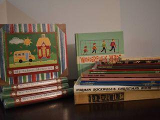 lot of Assorted Scrapbooks and Scrapbook Idea Books   More