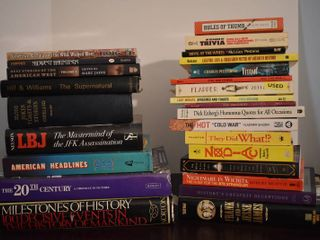 large lot of Assorted Nonfiction History Books