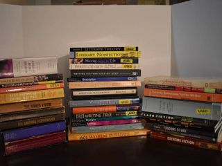 large lot of Assorted Novels   Writing Tip Books