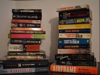 large lot of Assorted Fiction   Nonfiction Books