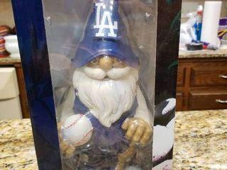 lA Dodgers MlB Team Gnome   NIB