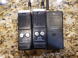 lot of 2 Realistic Transceivers   a Realistic Receiver   Model  s   20 106   TRC 217