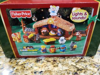 Fisher Price little People Christmas Story   Model     J2404