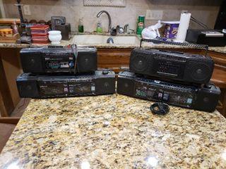 lot of 4 GPX Stereos   Model     C835  C948  C836  C950