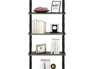 Furinno 18032 Turn N Tube 5 Tier Multipurpose Shelf Display Rack