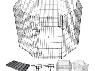42  Metal Dog Playpen and gate   49 99 Retail